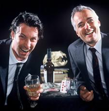 Ben Schneider and David Calvitto, Horse Country, Edinburgh, 2002 (Clancy Productions/Theatre Tours International)