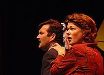 Bill Coelius and Nancy Walsch, screwmachine/eyecandy, Edinburgh, 2005 (Scamp Theatre)